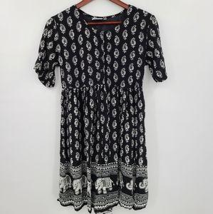 Papa Vancouver Rayon Mini Summer Dress